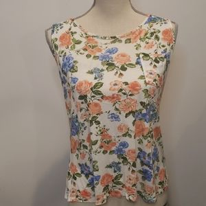 FREE w/purchase F21 Racer Back floral top